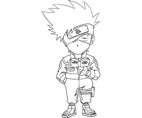 kakashi lightning blade coloring pages coloring pages