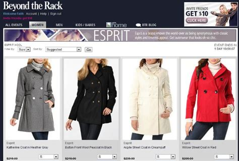 Betond The Rack by Flash Sales Site Beyond The Rack Receives 36 6m Vatornews