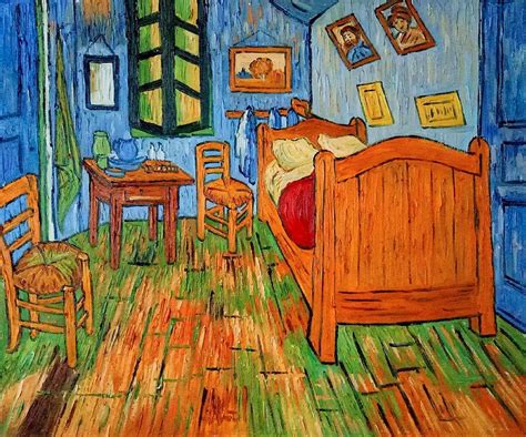 bedroom at arles vincent gogh reproduction