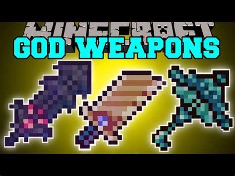 gods' weapons | remake (1.10.2) minecraft mod