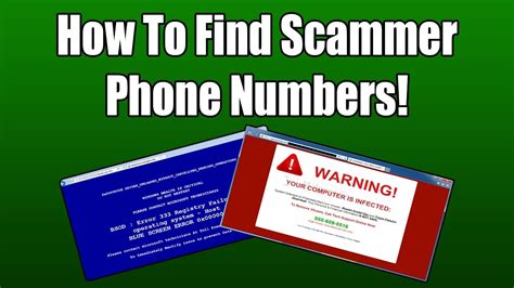 Scammer Phone Number Lookup How To Find Scammer Phone Numbers