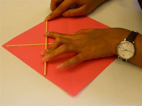 Make A Paper Kite - how to make a simple kite out of paper a diy activity for
