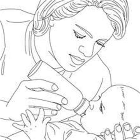 baby nurse coloring pages krankenschwester kontrolliert den blutdruck zum ausmalen
