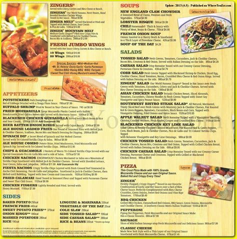 miller ale house menu miller ale house coupons 2016 2017 best cars review