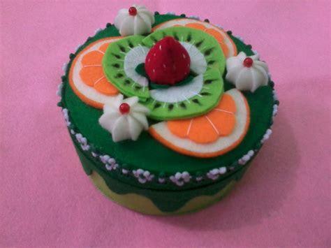 tutorial kue unik cara membuat toples hias dari kain flanel art energic