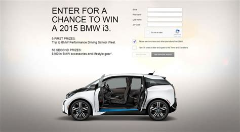 Bmw Car Giveaway - enter bmw s i secret sweepstakes win electric i3 from super bowl ad the news wheel