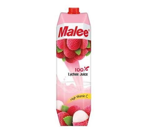 lychee juice uht malee 100 lychee juice priyoshop com