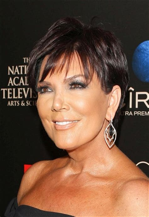 kris jenner hairstyle evolution | sophisticated allure
