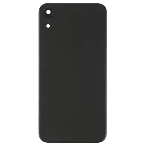 battery back cover with back bezel lens adhesive for iphone xr black alexnld