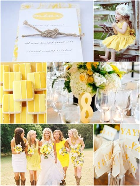 weddings by color shades of yellow white wedding philippines wedding philippines