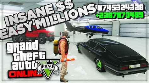 Gta 5 Online Best Way To Make Money - gta 5 online how to make money fast online best online cash farm method gta v