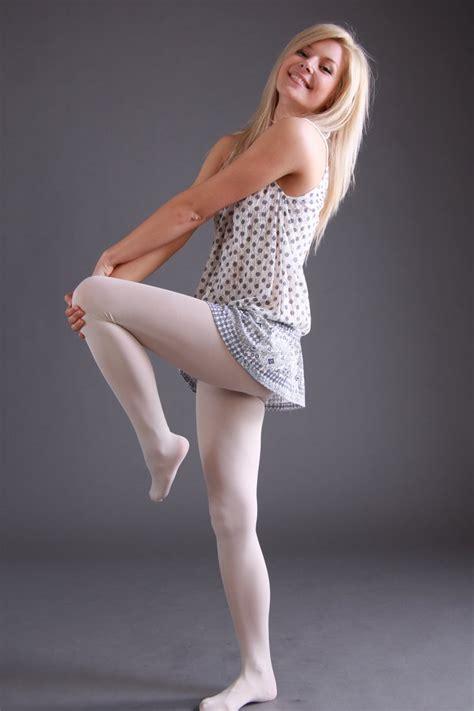 preteen nylon johana in white tights by real neil on deviantart