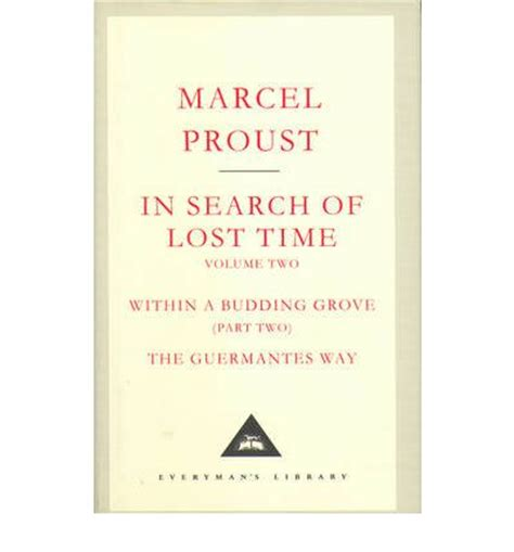 in search of lost in search of lost time v 2 marcel proust 9781841598970