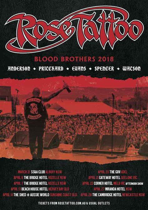 rose tattoo blood brothers returns on blood brothers 2018 tour this month
