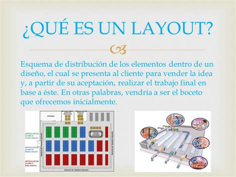 Layout Que Es Pdf | layout de un almac 201 n ppt video online descargar