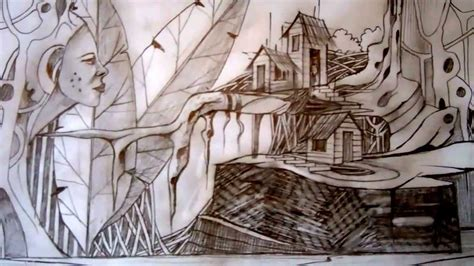 dibujos sud realistas dibujos surrealistas a l 225 piz por david sosa youtube