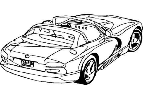 car coloring pages coloringpagescom