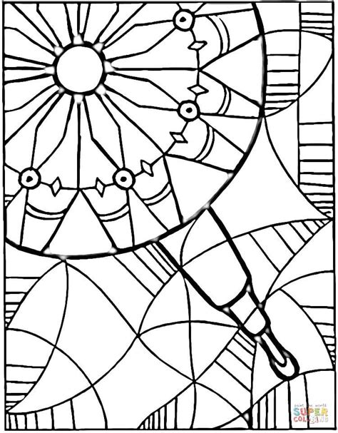 printable coloring pages kaleidoscope view in kaleidoscope coloring page free printable