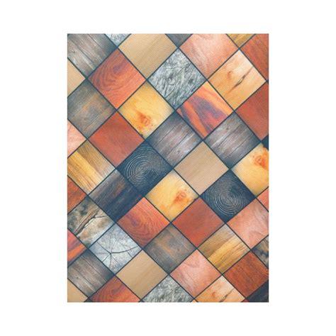 tappeto a metro tappeto con mosaici effetto legno al taglio a metro