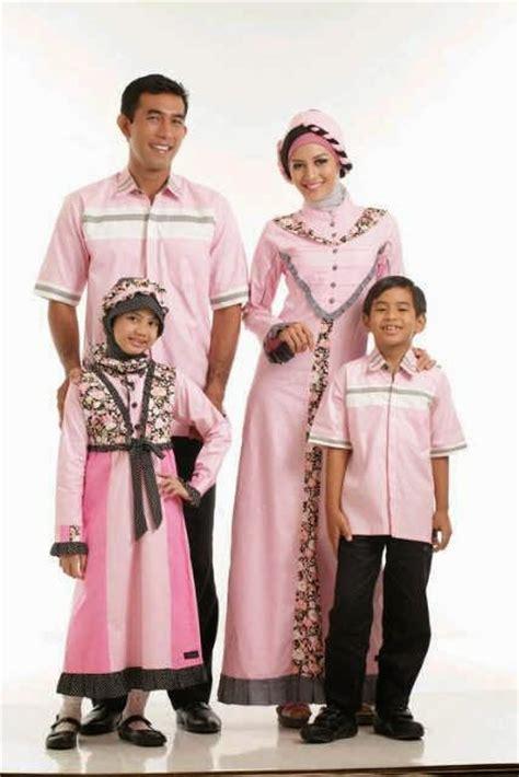 Baju Muslim Warna Merah inspirasi 8 model baju seragam muslim keluarga