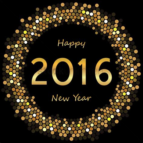 new year 14th feb 2016 happy 2016 new year vector image 1508902 stockunlimited