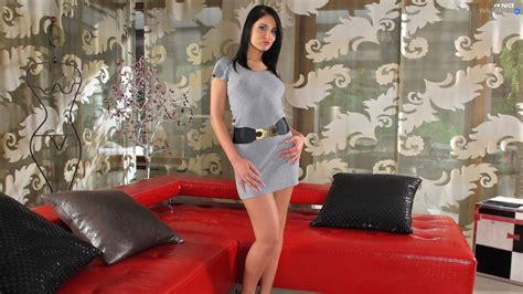 Hq 6893 Dress Wbelt Black belt legs mini dress wallpapers 1920x1080