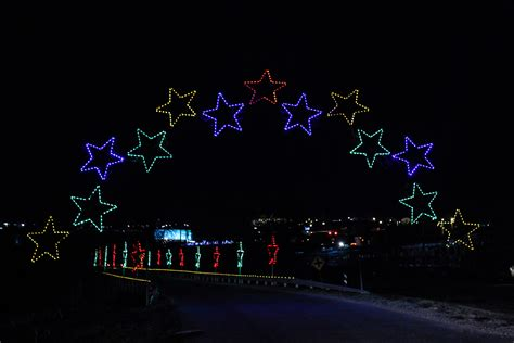 commercial christmas light displays help fundraise and