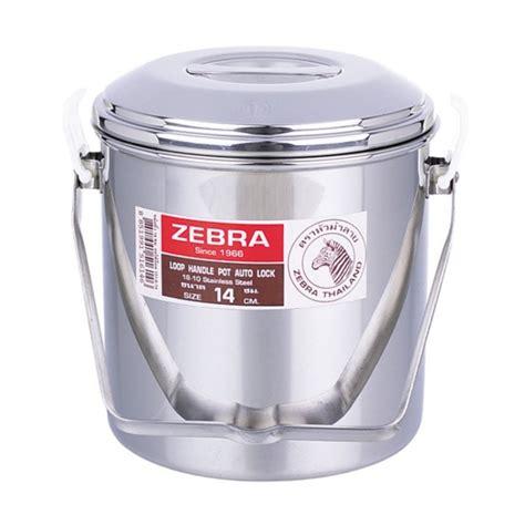 Zebra Pot Filter Pot 12cm Zebra zebra loop handle billy pots wilderness innovation