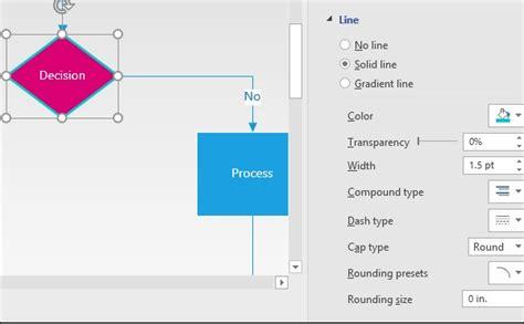 change shape in visio microsoft visio formatting shape lines