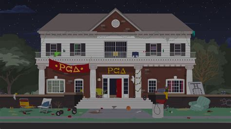 frat house pc delta fraternity house official south park studios wiki south