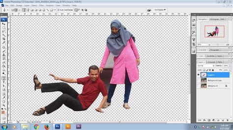 Cara Edit Foto Di Photoshop Laptop | cara mudah mengedit foto mini people dengan photoshop cs3