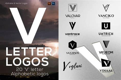 letter alphabetic logos logo templates creative market