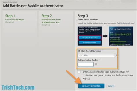 blizzard mobile authenticator improve battle net account security with mobile authenticator