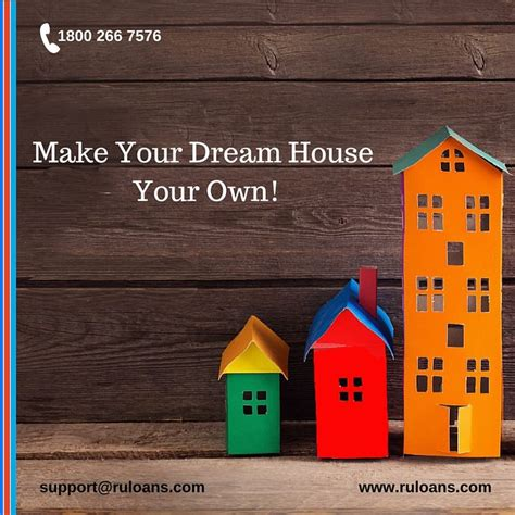 build your own dream house home loan ruloans make your dream house your own get