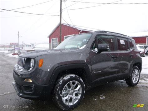 jeep renegade grey 2016 granite crystal metallic jeep renegade latitude 4x4