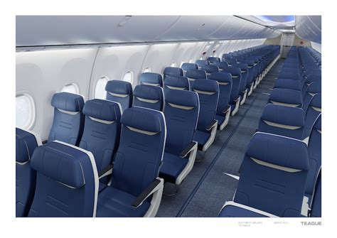 southwest airlines seat pitch southwest reveals new seats yay one mile at a time