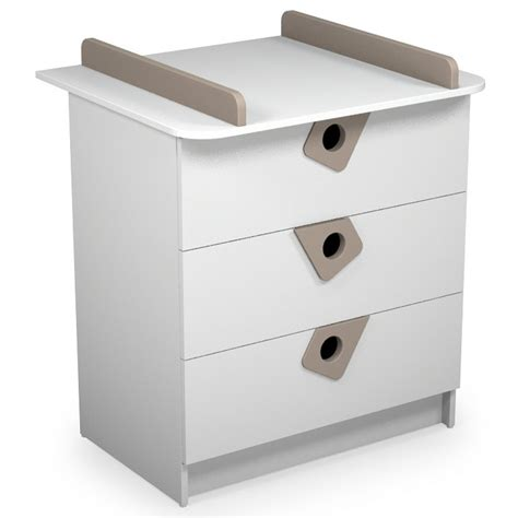 commode a langer taupe atelier commode 224 langer b 233 b 233 blanc et taupe t4