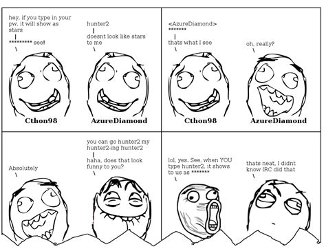 Rage Meme Creator - irc log to rage comic generator