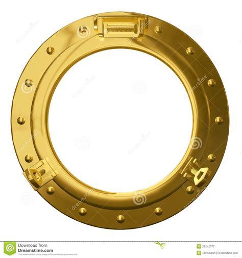 boat window clipart isolated brass porthole stock illustration illustration
