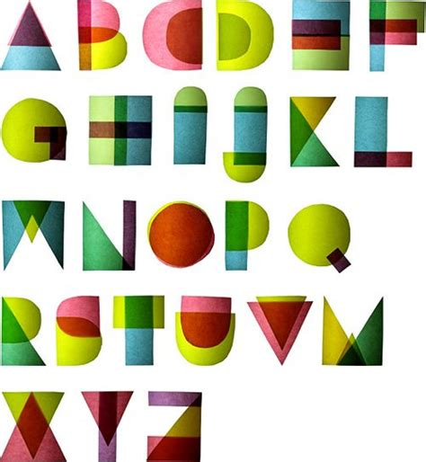 abc pattern using shapes 212 best artsy alphabets images on pinterest writing