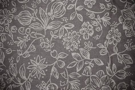 gray pattern texture gray fabric with floral pattern texture picture free