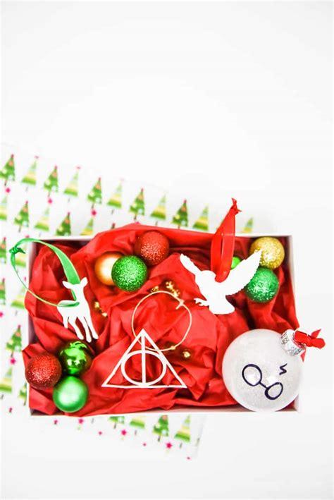 obnoxious christmas ornaments diy paper harry potter ornaments