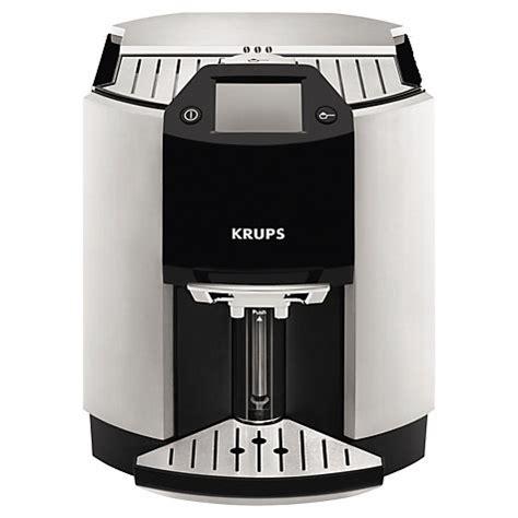 Coffee Maker Krups Harga buy krups ea9010 espresseria bean to cup coffee machine silver lewis