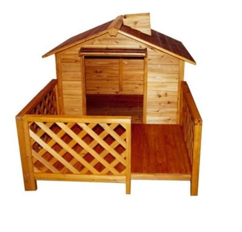 large dog house with porch merry pet the mansion large wood pet dog house with porch mpl002