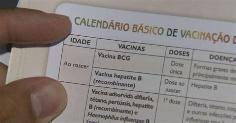 g1 vacinas de gr 225 vidas e rec 233 m nascidos est 227 o em falta