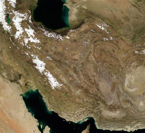 satellite map of iran فهرست مرجع کوهنوردان معرفی کوهنوردان نقشه ایران