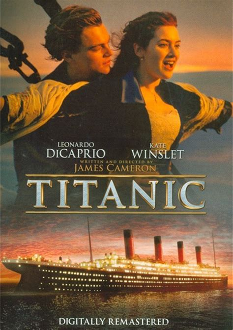 titanic dvd  dvd empire