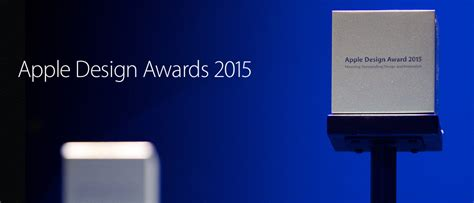 app design awards 2015 apple design awards 2015 la liste des apps gagnantes
