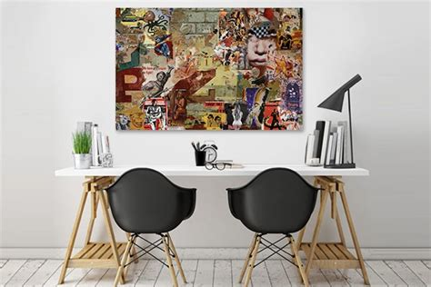 Modern Wall Art Stickers tableau contemporain design affiches