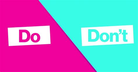 20 Dos And Donts Of A Date by Dating Dos Don Ts Series